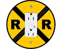 popular items for railroad crossing on etsy