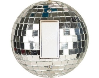 Disco Ball Decora Rocker Switch Plate Cover