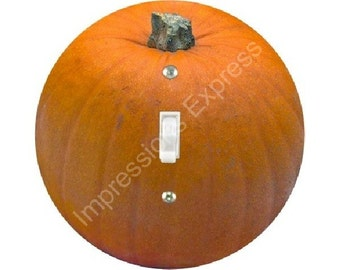 Pumpkin Single Toggle Light Switch Plate Cover
