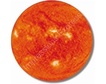 Sun Space Round Mousepad