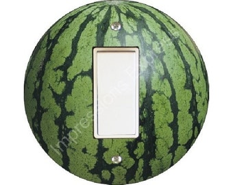 Watermelon Fruit Decora Rocker Switch Plate Cover
