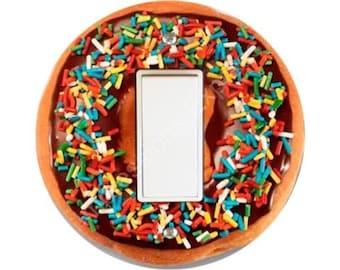 Doughnut Decora Rocker Switch Plate Cover