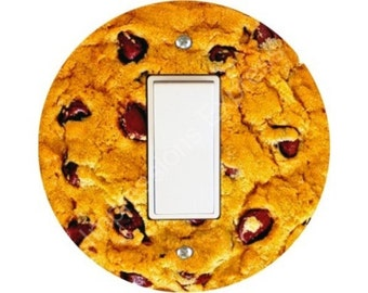 Chocolate Chip Cookie Decora Rocker Switch Plate Cover