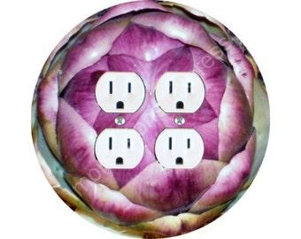 Artichoke Double Duplex Outlet Plate Cover
