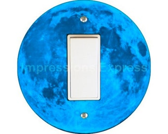 Blue Moon Decora Rocker Switch Plate Cover
