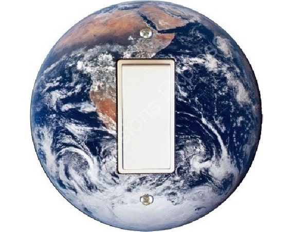 Planet Earth From Space Decora Rocker Switch Plate Cover