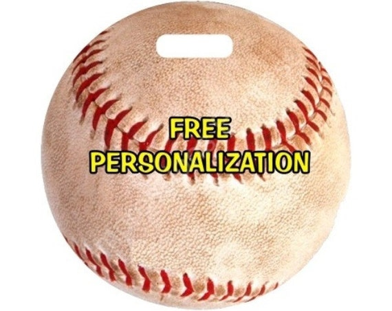 Baseball Ball Sport Personalized Luggage Bag Tag
