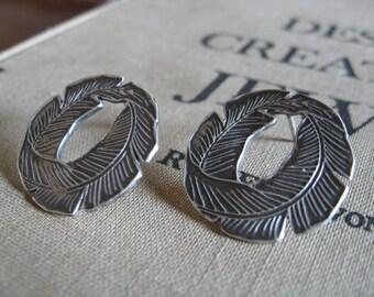 Palm Frond Earrings