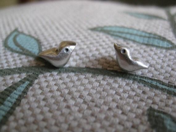 Mod Bird Earrings
