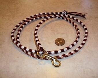 Kangaroo leather leash