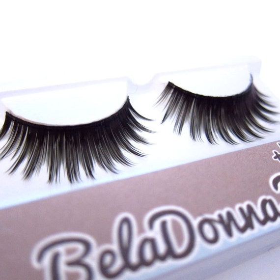 JASMINE C30 - False Eyelashes (Glue included) - Craft Projects, Reusable, Everyday Wear, Halloween Costume, Cosplay, add Drama to the Eyes