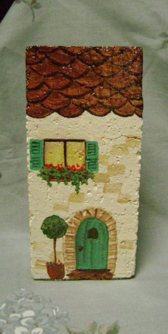 French Apartment Hand Painted Doorstop