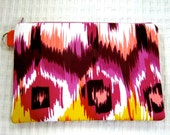 Tribal Wallet Wristle, Ikat , Womans Fashion, Mothers Day Gift