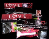 Hugs and Kisses\/LOVE Treat Toppers