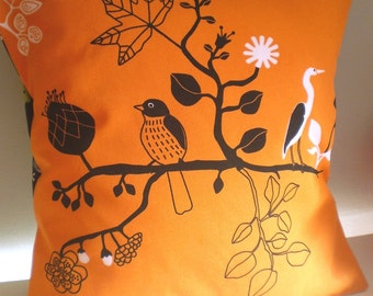 Birds in Tree Cushion / Pillow cover