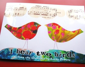 PICTURE BOOK    I Hear Two Birds (counting book, learn to count)