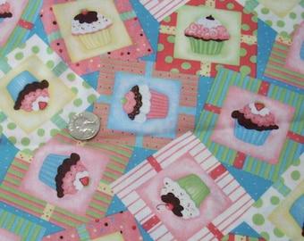 Fat Quarter Cupcake Fabric