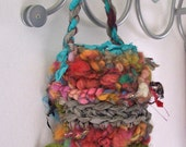 Crochet Pattern PDF for Change Saver Bag....  Electronic Delivery