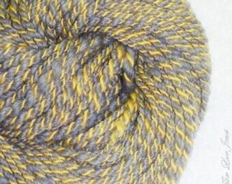 Metaphorical - 40 yds 2-ply Handspun Art Yarn - Knitting - Weaving - Crochet - Fulling - Mixed Media