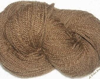 Shetland Moorit - 2 ply - 167 yards handspun