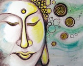 Beach Buddha - 8 x 10 inch print