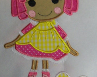 Iron On Applique - Sugar and Crumbs Doll 5677F