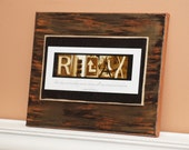 """11""""x14"""" Canvas - Relax"""