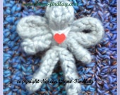 PDF Pattern for Tiny Spool knitted Angel Doll