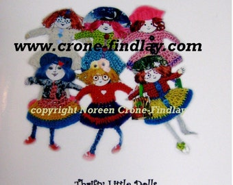 Rosie Recycle Dolls Pattern eBook PDF