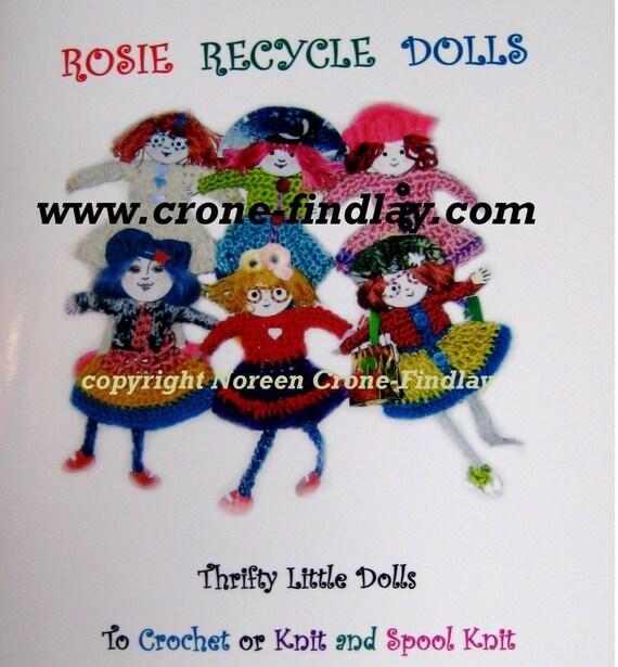 Rosie Recycle Dolls Pattern eBook PDF