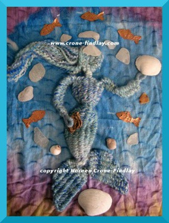 PDF Pattern for Mermaid woven on the weaving stick loom