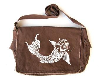 Koi Messenger Bag