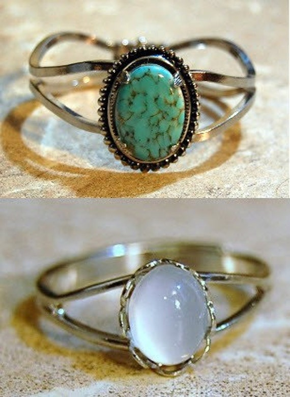 Bella Swans Moonstone Ring and Turquoise Bracelet Set - Twilight ...