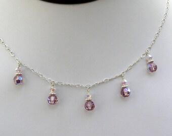 handmade fine wedding jewelry bridesmaid swarovski by