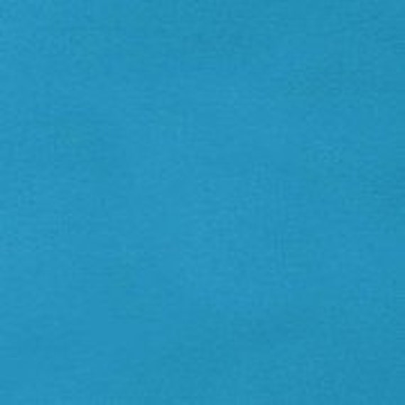Carribean Blue Kona Cotton Fabric - Robert Kaufman - 1.5 yds