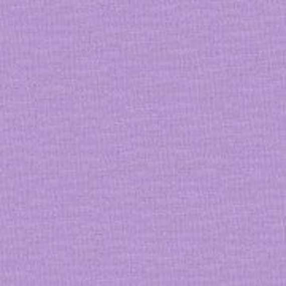 Thistle Purple Kona Cotton Fabric - Robert Kaufman - 7/8 yd