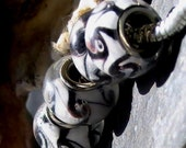 Onyx Swirl Pandora Bead 2