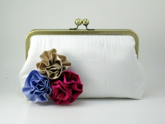 CUSTOMIZE your ROSETTES Clutch