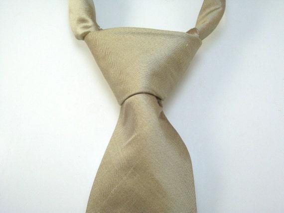 S A L E Dupioni Silk Tie : Pink Latte - Wedding - Groom - Groomsmen