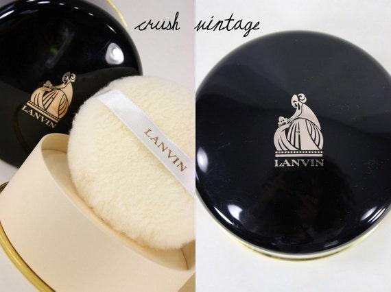 Lanvin 1960's Arpege Dusting Powder / Never Opened / Vintage Bath