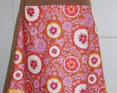 Raspberry and Tangerine Go To Skirt Reserved for Amy