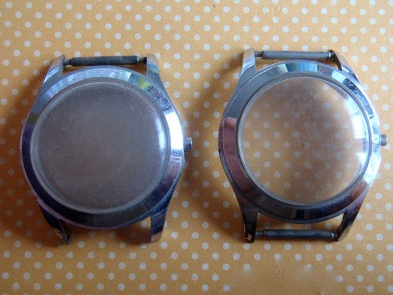 Vintage  Watch case bezels - Steampunk - Scrapbooking q9