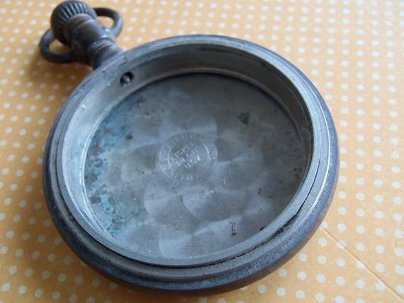 Steampunk Supplies - Vintage Pocket Watch case - Steampunk - Scrapbooking P83