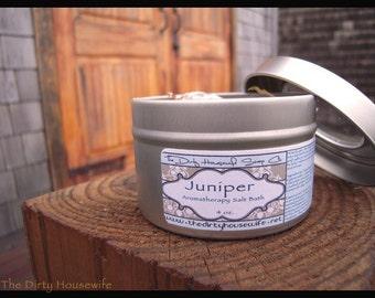Juniper Aromatherapy Salt Bath 4 oz.