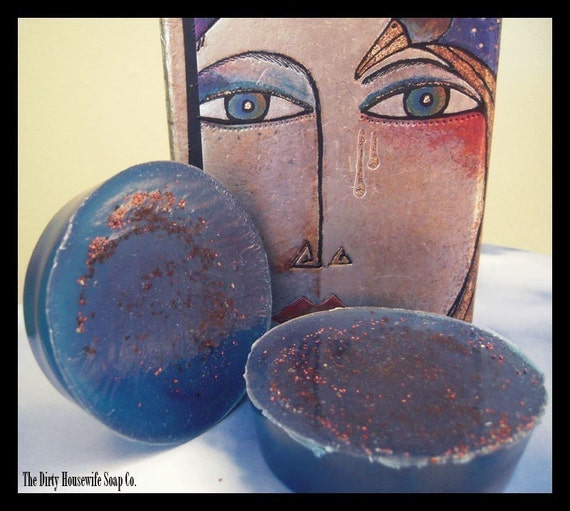 Maine Gypsy Blueberry   (aloe and olive oil soap)