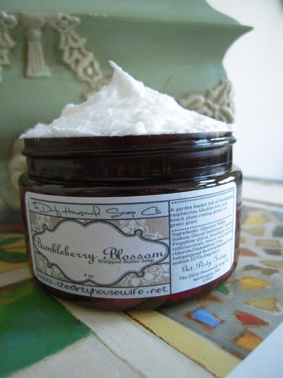 Bumbleberry Blossom (whipped butter soap) 4 oz.