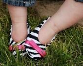 Sassy Zebra Slip on Shoe
