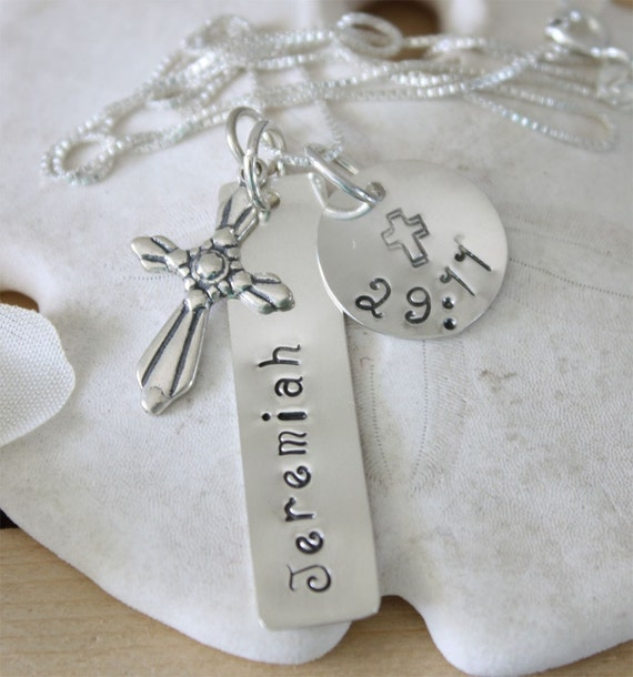 Bible Verse Favorite Sterling Silver Necklace