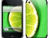 iPhone Skin (3GS, 3G, Original) - A Slice of LIme
