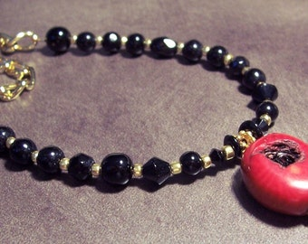 Beautiful Red Coral Necklace